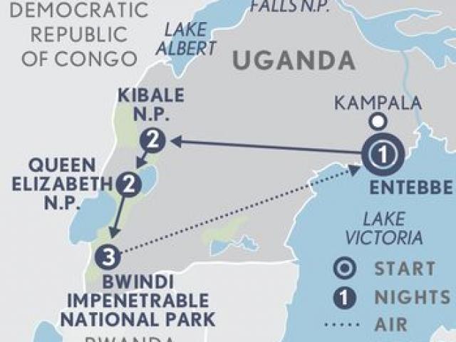 Uganda Wildlife Discovery