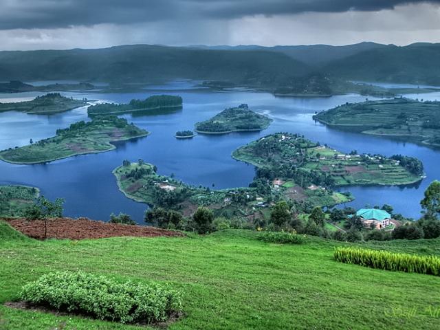 Uganda, Lake Bunyonyi
