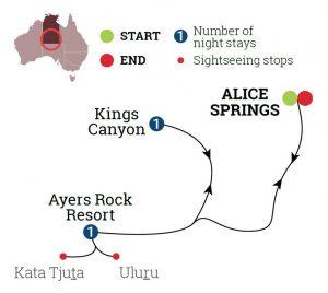 Uluru & Kings Canyon Discovery