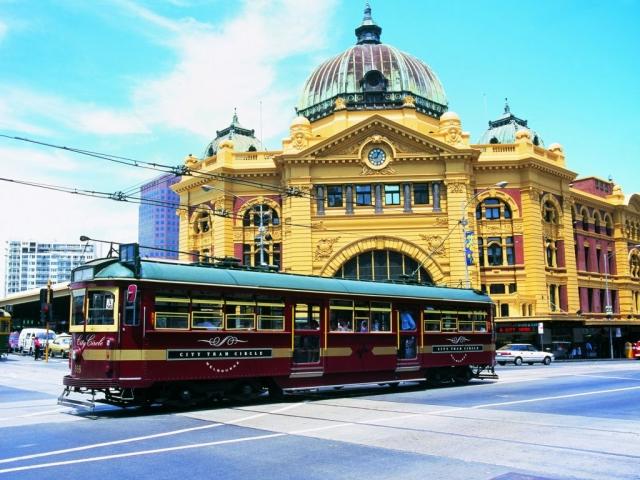 Victoria, Melbourne, Flinders Street Station