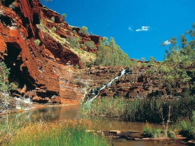 Western Australia, Karijini, Fortescue Falls