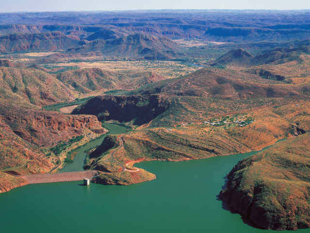 Western Australia, Kununurra, Lake Argyle