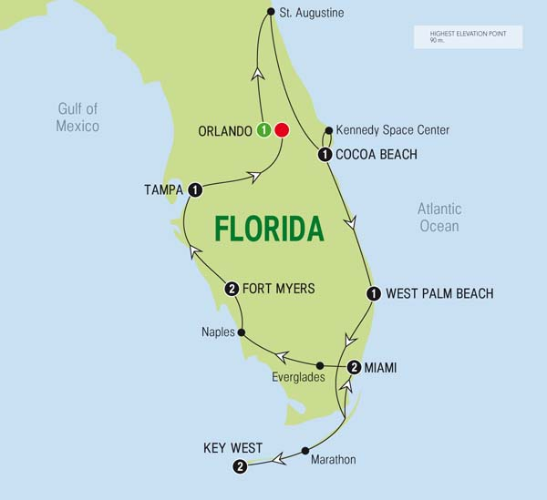 America, Florida's Sunshine Trail