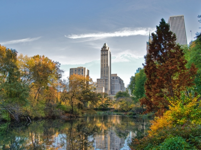 America, New York City, Central Park