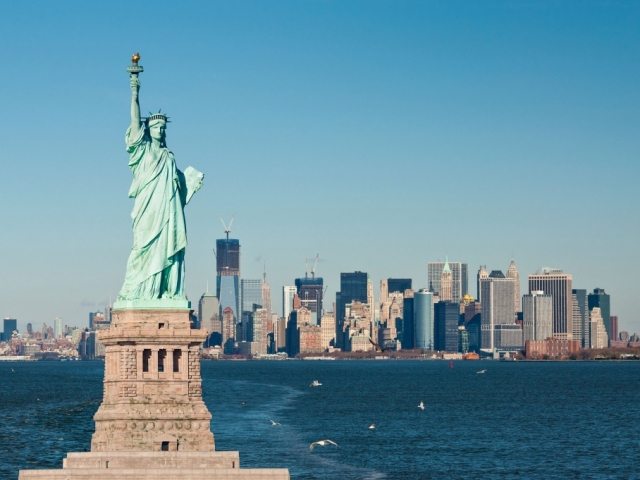 America, New York City, Statue of Liberty