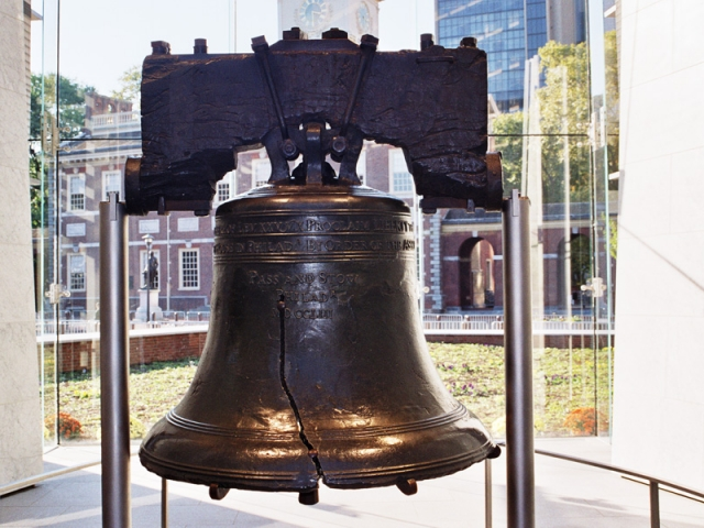 America's Historic East | Liberty Bell, Philadelphia. Pennsylvania, USA