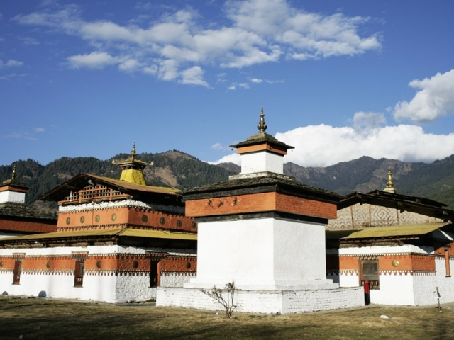Bhutan, Bumthang Valley, Jambay Temple