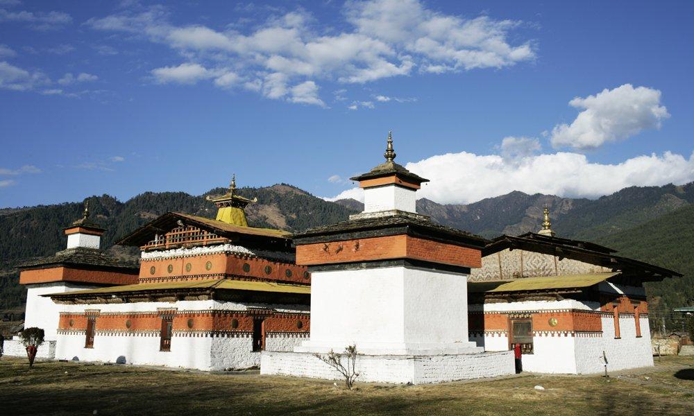 Bhutan, Bumthang Valley, Jambay Temple