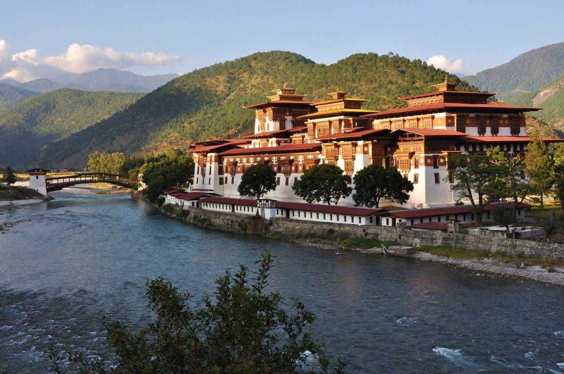 Bhutan, Thimphu, Changangkha Lhakhang Monastery