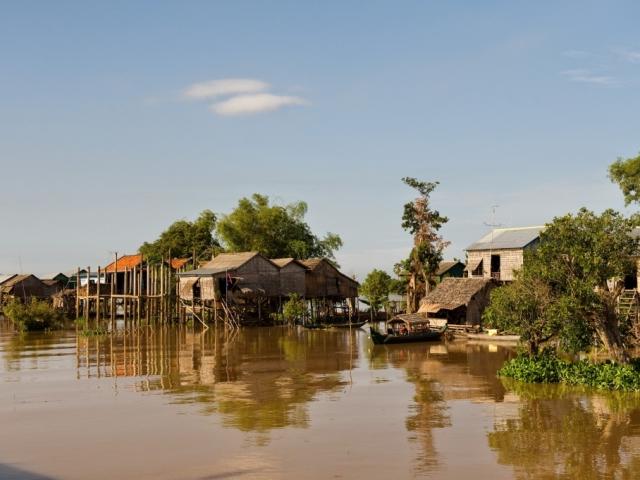 CF Mekong River Cruises, Cambodia River Scene