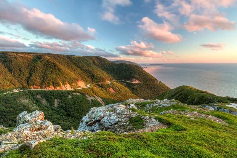 Canada, Cape Breton, Cabot Trail