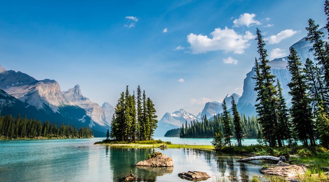 Canada, Jasper, Maligne Lake