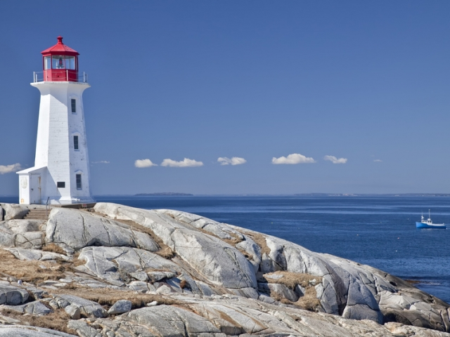 Canada, Nova Scotia, Peggy's Cove Lighthouse