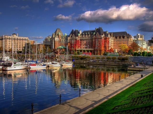 Canada, Victoria, BC, Victoria Harbour