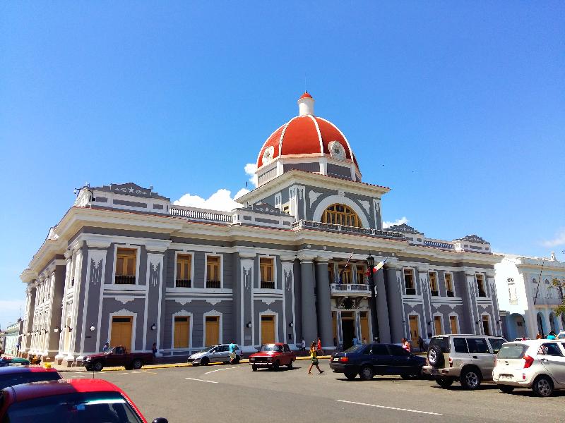 Cuba, Cienfuegos, Palacio de Gobierno