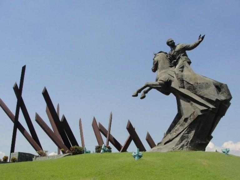 Cuba, Santiago de Cuba, Monument of Antonio Maceo