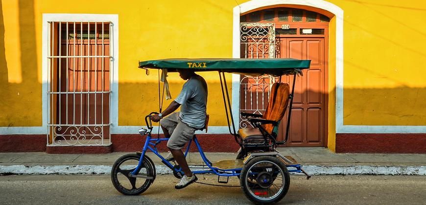 Cuba Libre | Trinidad, Bici-Taxi