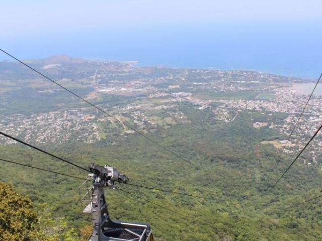 Dominican Republic, Puerto Plata , Teleferico Cable Car