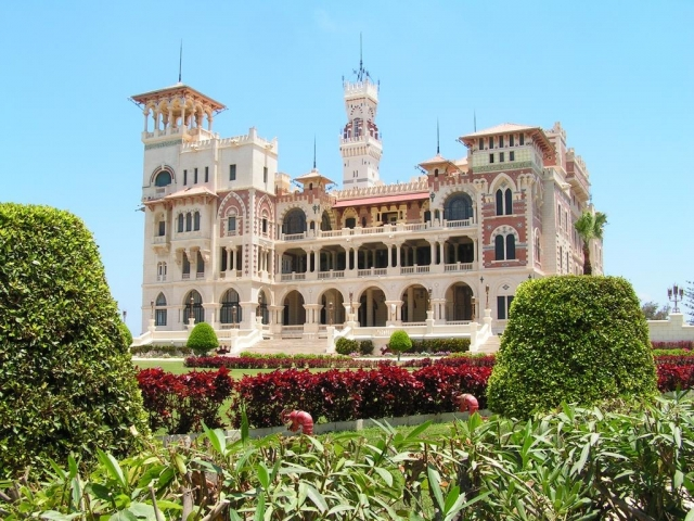 Egypt, Alexandria, Montazah Palace & park