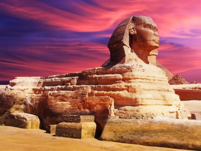 Egypt, Cairo, Great Sphinx Of Egypt
