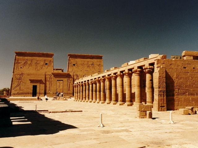 Egypt, Philae Island, Temple of Isis