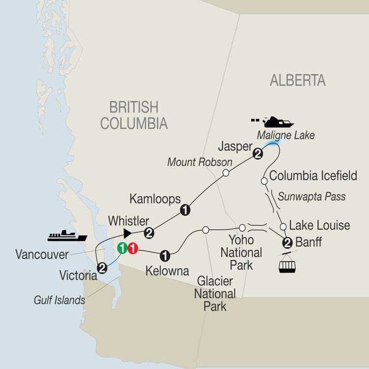 Grand Western Canada Vacation