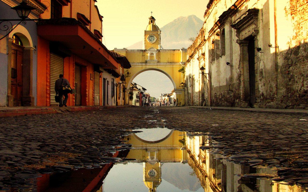 Guatemala, Antigua, Arco Santa Catalina