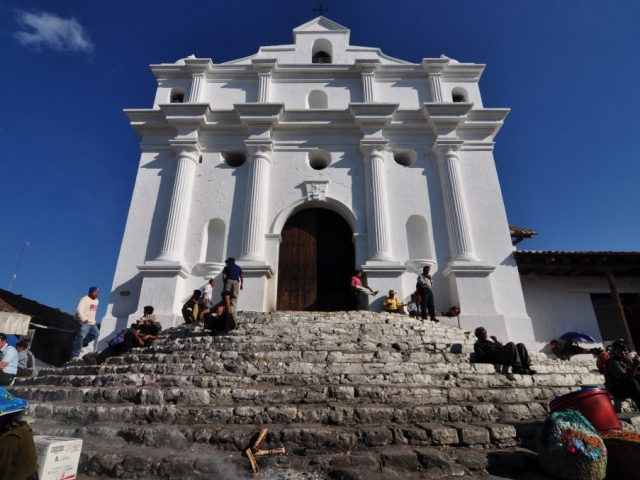 Guatemala Highlands, Chichicastenango, Church of Sant Tomas