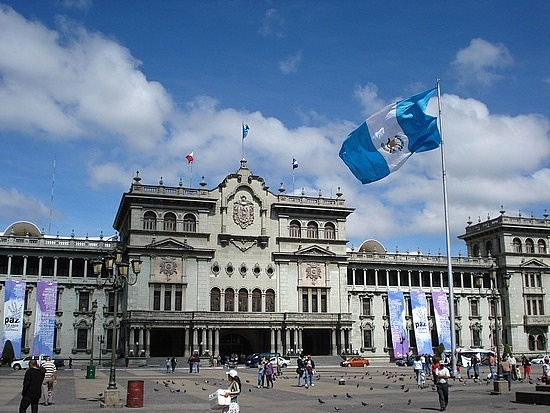 Guatemala, Guatemala City, The National Palace