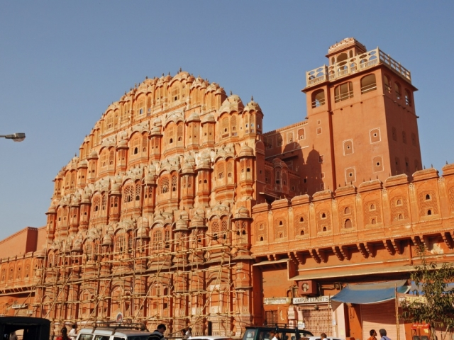 Classic North India - Hawa Mahal, Jaipur, India