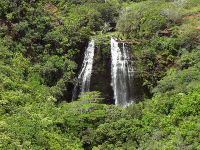 Hawaii, Kauai, Opaekaa Falls