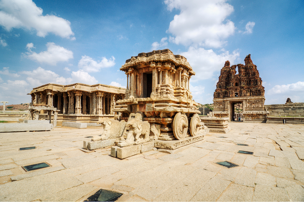 India, Hampi, Vithala Temple Complex