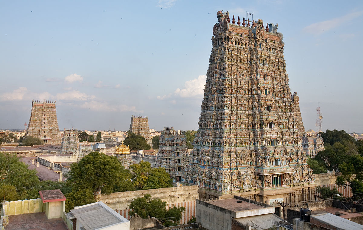 India, Madurai, Meenakshi Temple