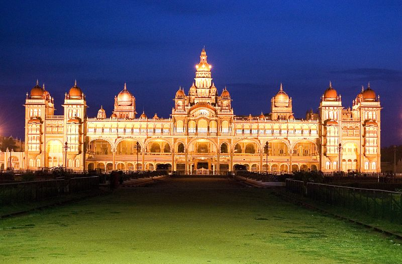 Classic South India - Mysore Palace, Mysore, India