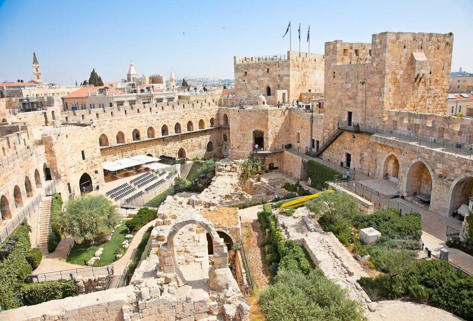 Israel, Jerusalem, Tower of David