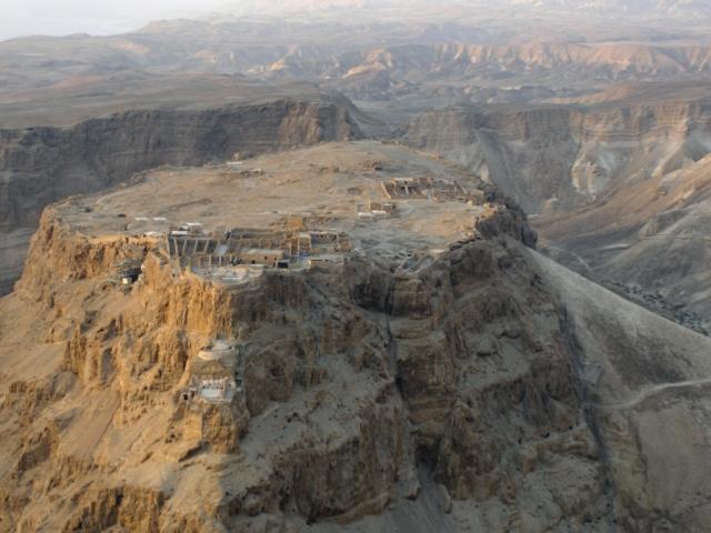 Israel, Masada, Desert Fortress