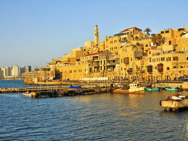 Old Jaffa Port, Tel Aviv, Israel