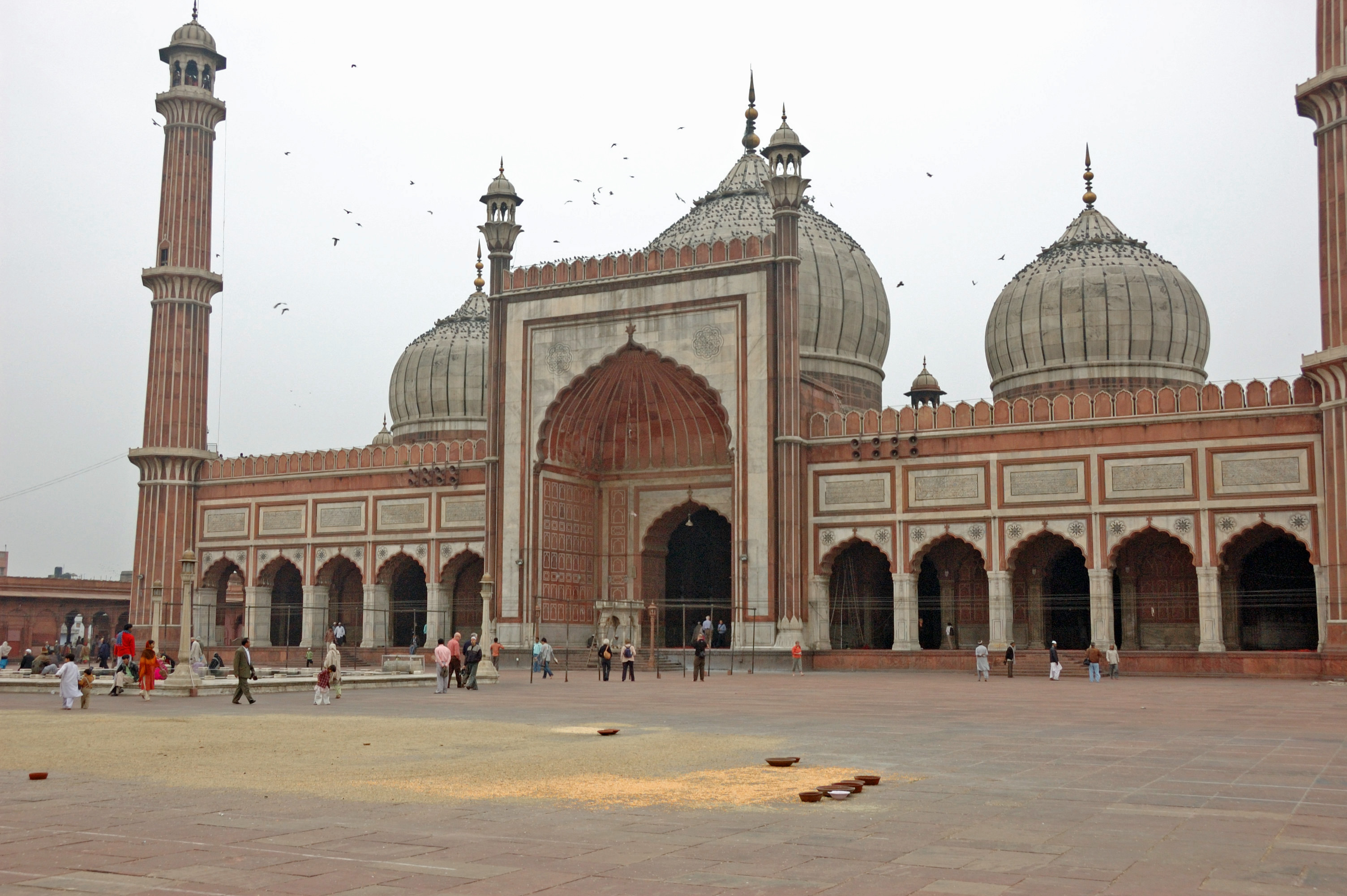 India, New Delhi, Jama Mosque