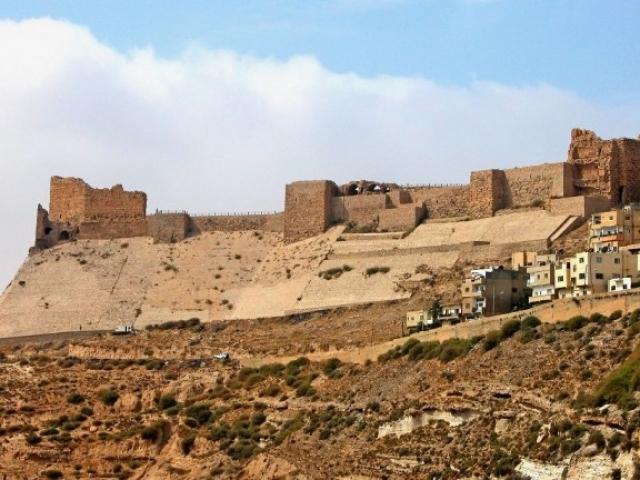 Jordan, Karak, Crusader Castle