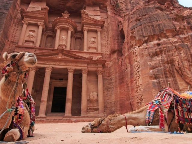 Jorden Experience - Treasury, Petra, Jordan