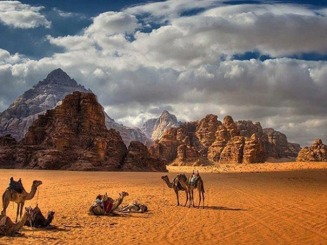 Jordan Experience with Dead Sea - Wadi Rum, Jordan