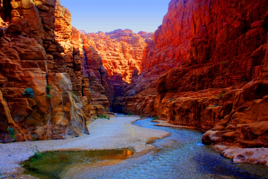 Jodan - Wadi Mujib, Jordanian Grand Canyon