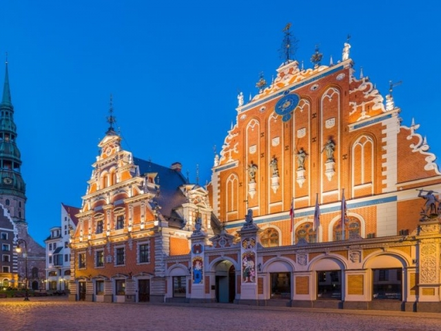 Latvia, Old Riga, The House of Blackheads