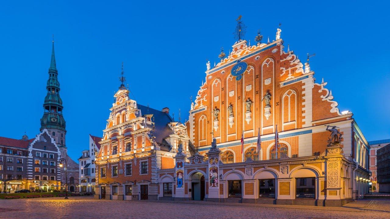 Latvia, Old Riga, The House of Blackheads