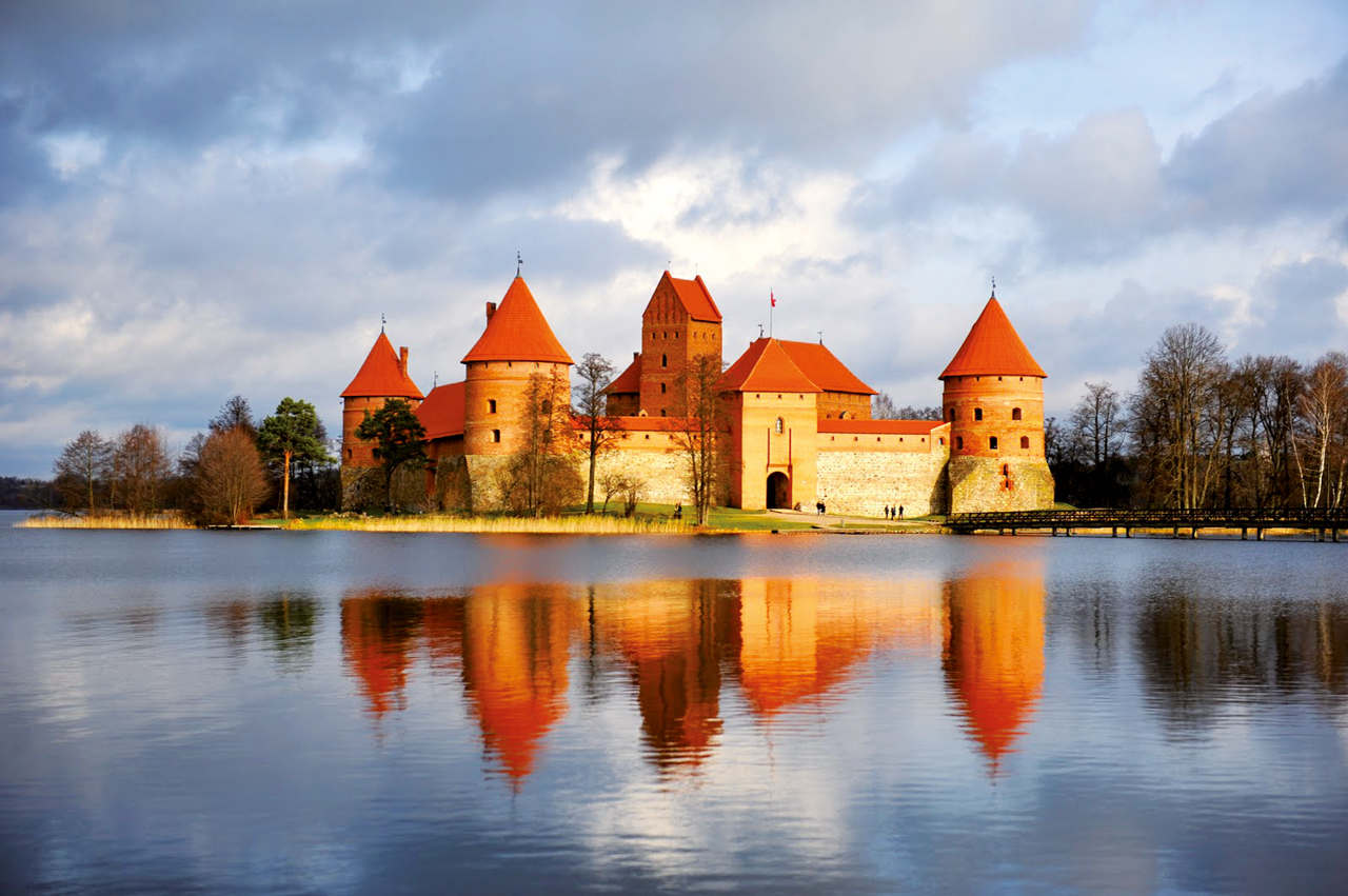 Lithuania, Trakai, The Island Caslte