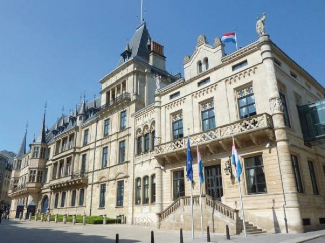Luxemburg, Grand Ducal Palace