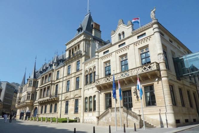 Best of Holland, Belgium and Luxembourg - Grand Ducal Palace, Luxembourg
