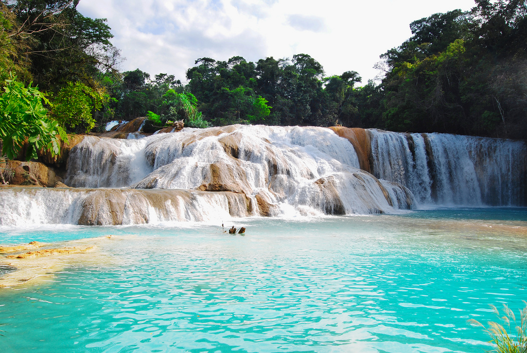 Magic Mexico, Agua Azul waterfalls