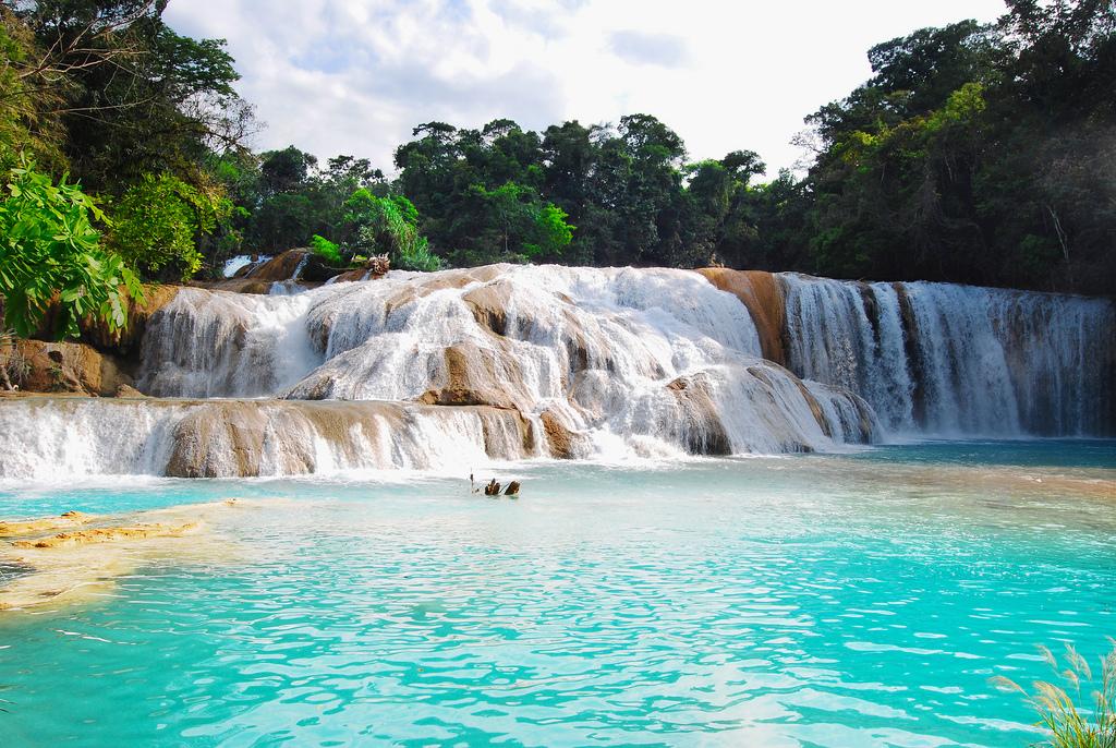 Magic Mexico, Agua Azul waterfalls