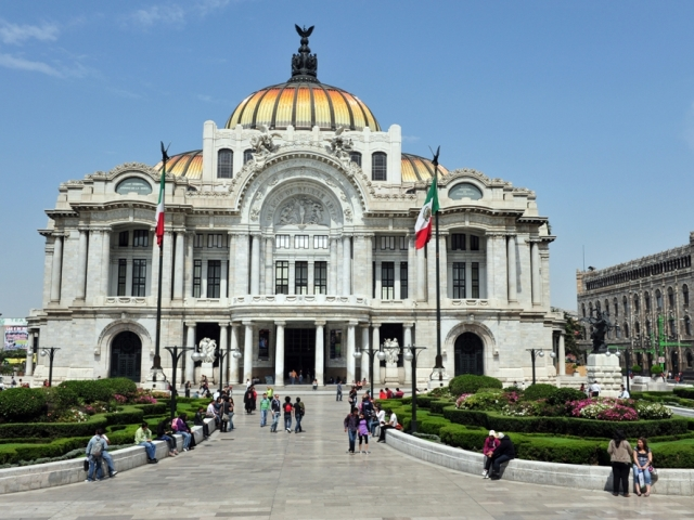 Mexico City Stopover, The Fine Arts Palace
